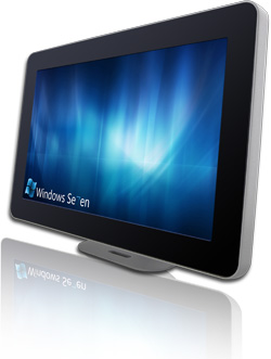 10 1 Multi Touch Flat Panel Pc And Display Embedded